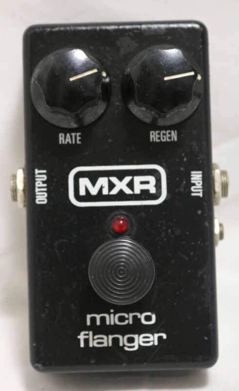 MXR Micro Flanger Electric Guitar Foot Pedal Footswitch Effect FX Analog