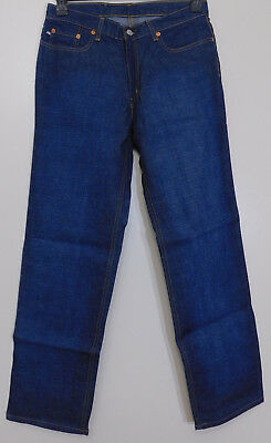 Z13 - Lauren Jeans Company Damen Ralph Lauren Dunkelblau Jeans Größe 6 ()