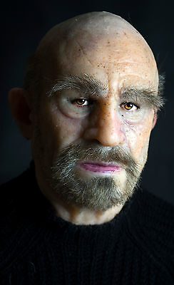 """Silicone Mask Old Man """"Marcus"""" Hand Made, Halloween High Quality, Realistic,"""
