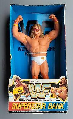 "wwf ljn hasbro wrestling superstars 14"" ultimate warrior wrestling figure"
