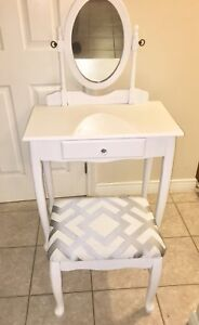 Restored Make Up Vanity