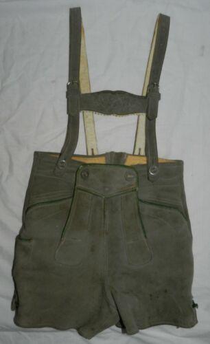 Vintage Leather Lederhosen, probably boys size