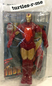 MIP Burger King IRON MAN 2 Repulsor Power MARVEL Action Figure 2010 Tony Stark