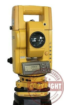 Topcon Gts-303 Surveying Total Stationtopcontrimblesokkianikontransit