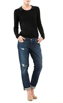 J BRAND UK 8 W26 Slouchy Boyfriend JEANS Size 26 Blue designer 29L Girlfriend