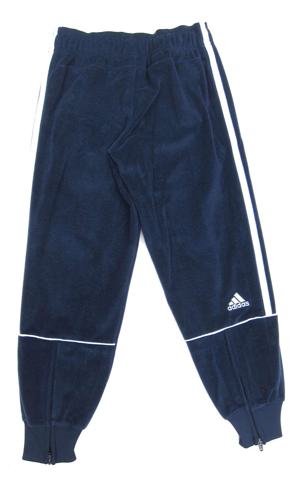 Dettagli su Adidas Ragazzi Pantaloni Tuta Velluto 5 6Y 7 8Y 9 10Y 11 12Y 13 14Y 15 16