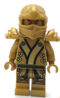LEGO GOLD LLOYD MINIFIGURE NINJAGO PEARL GOLD FIGURE RARE NINJA