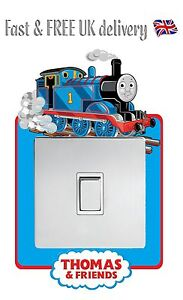 THOMAS THE TANK ENGINE STICKER LIGHT SWITCH SURROUND WALL STICKER DECAL   S2 Part 86