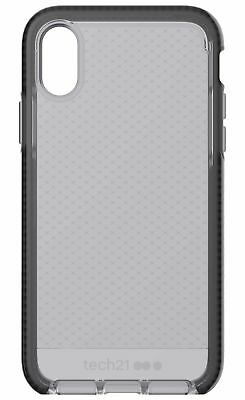 Tech21 - Evo Check Drop Protection Case for Apple iPhone XR - Smokey/Black