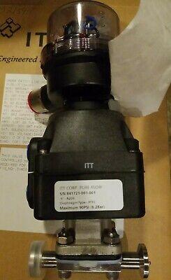 Itt Pure-flo 12 Sanitary Hastelloy Diaphragm Valve Pneumatic Air Operated Dn15