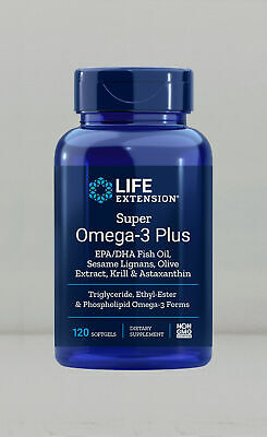 Life Extension Super Omega-3 Plus EPA/DHA With Sesame Lignan