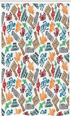 Tribal Cortina de Ducha Maya y azteca