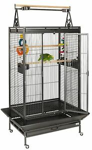 LIBERTA CAMBRIDGE ANTIQUE AFRICAN GREY AMAZON PARROT CAGE BIRD CAGES