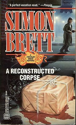A Reconstructed Corpse By Simon Brett Worldwide Pb 1993 1996 Charles Paris