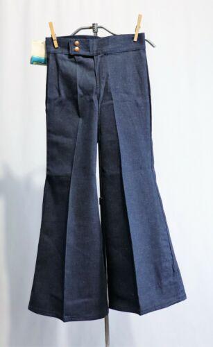 Vintage Wrangler Denim Jeans Pants Dead Stock sz 10 Girls Bell Bottoms