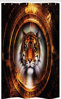 Tigre Cortina de Ducha Calendario maya