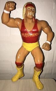 WWF LJN Hulk Hogan Red Shirt Wrestling Superstars Figure WWE NWO