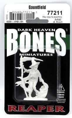 Reaper 77211 Gauntfield (Bones) Skeleton Scarecrow Undead Halloween Monster NIB](Halloween Bones Game)