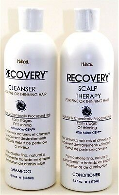 Nairobi Recovery Cleanser Shampoo And Scalp Therapy Conditioner 16 fl each