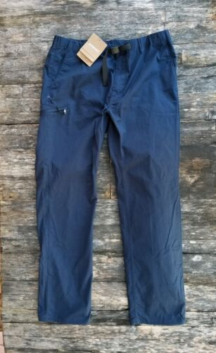 NEW Patagonia Performance GI IV Pants Mens Size XL Navy Belt