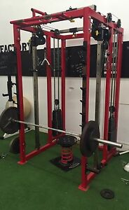 Power rack with cables