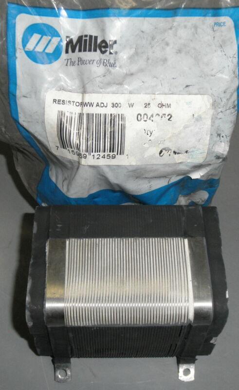 Miller Adjustable Resistor 004652 5905-01-369-1409 25 Ohms