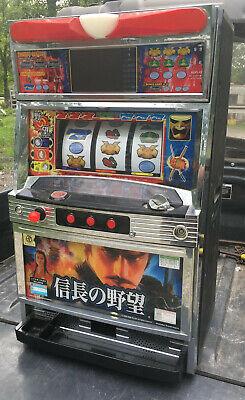 IGT NOBUNAGA NO YABO Token Slot Machine 2003 pachislo ninja japan