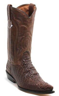 12 Cowboystiefel Westernstiefel Texas Boots Stickerei Catalan Style Krokodil 43 - Krokodil Cowboy Stiefel