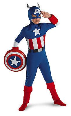 Captain America - Classic Style Child Costume](Captain America Kids Costumes)