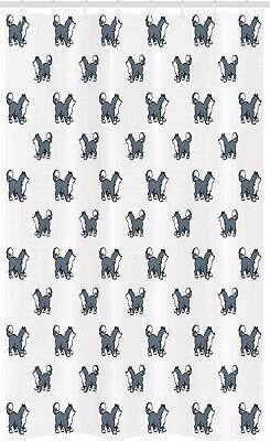 Amante de los perros Cortina de Ducha Husky siberiano cachorro