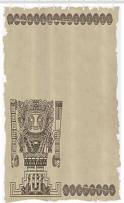 Tribal Cortina de Ducha maya Relic