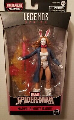 New Marvel Legends Spider-Man Marvel's White Rabbit Figure BAF FREE SHIPPING!!
