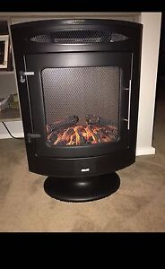 Arlec Free Standing Flame Effect heater with remote Enfield Golden Plains Preview