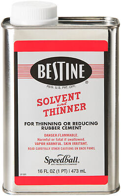 Bestine Solvent And Thinner-1 Pint - 2 Pack