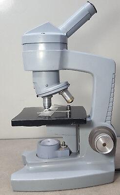 Ao Spencer 60-70 Microscope. Objective 1043. Wf10x Eye Piece.