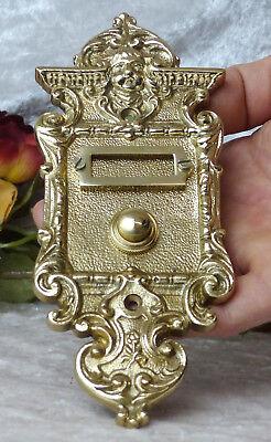 Messing Haustüre Antikladl Klingel 1 Brass Door Bell Tür Türklingel K4P