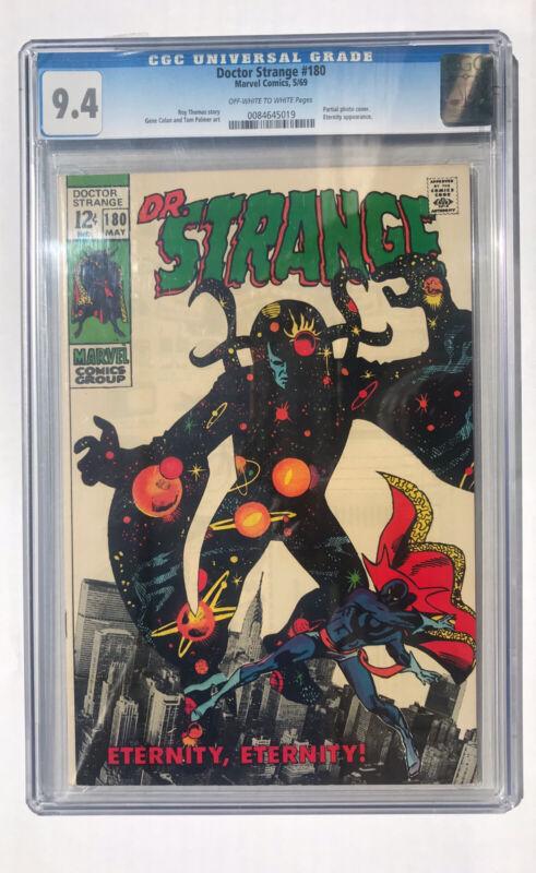 Doctor Strange #180 CGC NM (9.4) May 1969 Marvel