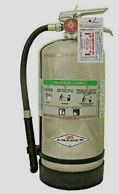 Amerex B260 Class K Wet Chemical Fire Extinguisher Certified Tagged New 2019.