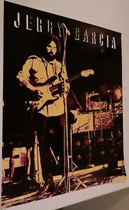 Jerry Garcia 16x20 color Winterland Productions Poster! Combine Shipping & Save!