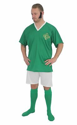 Adults Ireland Football Icon George Best Kit Fancy Dress & - Best Costumes For Men