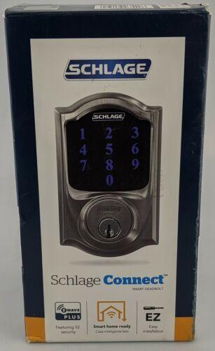 Schlage Connect Smart Deadbolt Satin Nickel In Box Excellent Shape