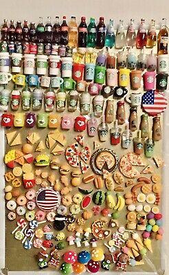 Dollhouse Miniatures Food Drink Lot (6) Piece 1:6 - 1:12 Scale