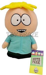 SOUTH-PARK-BUTTERS-PLUSH-DOLL-STUFFED-TOY-FIGURE-LICENSED-NANCO-10-NEW