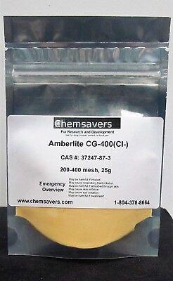Amberlite Cg-400ci- 200-400 Mesh 25g