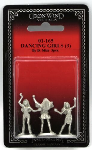 Ral Partha 01-165 Dancing Girls [3] (NPC Encounters) Female Harem Dancers Slaves