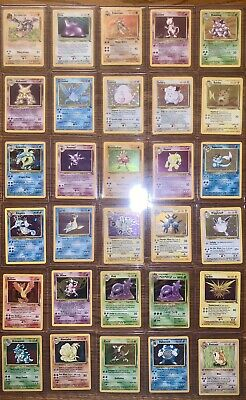 Vintage 90s WOTC Pokemon Cards Lot Holo Shadowless 1st Edition Base Set PSA?