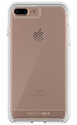 Tech21 Evo Check FlexShock Case for iPhone 8 Plus/7 Plus - Clear/White for sale  Shipping to Nigeria