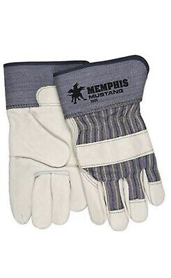 MCR Memphis Mustang Cowhide Leather Palm Gloves with 2.5