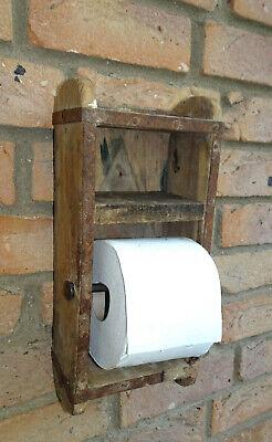 Toilettenpapierhalter Ziegelform Backsteinform Landhaus Nostalgie Vintage Shabby