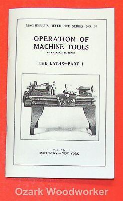 Operation Of Machine Tools Metal Lathe Manual Part 1 0497